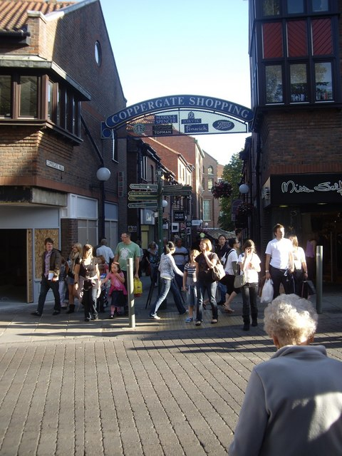Access to 'Coppergate Shopping'