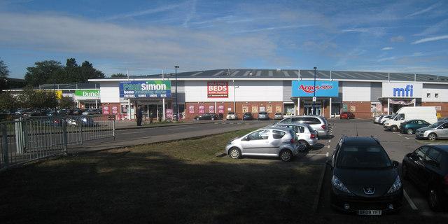 Retail Park off London Road