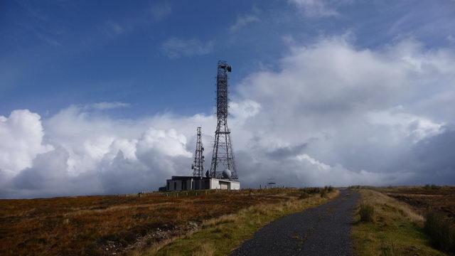 Masts on Maol Breac