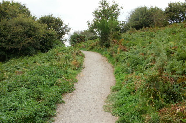 Nature trail footpath, Malpas