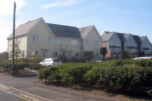 New Housing on New Hythe Lane
