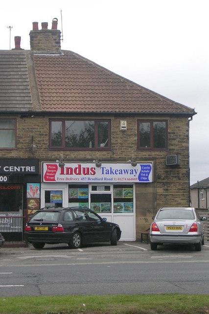Indus Takeaway - Bradford Road
