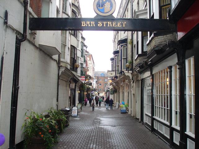 Bar Street, Scarborough