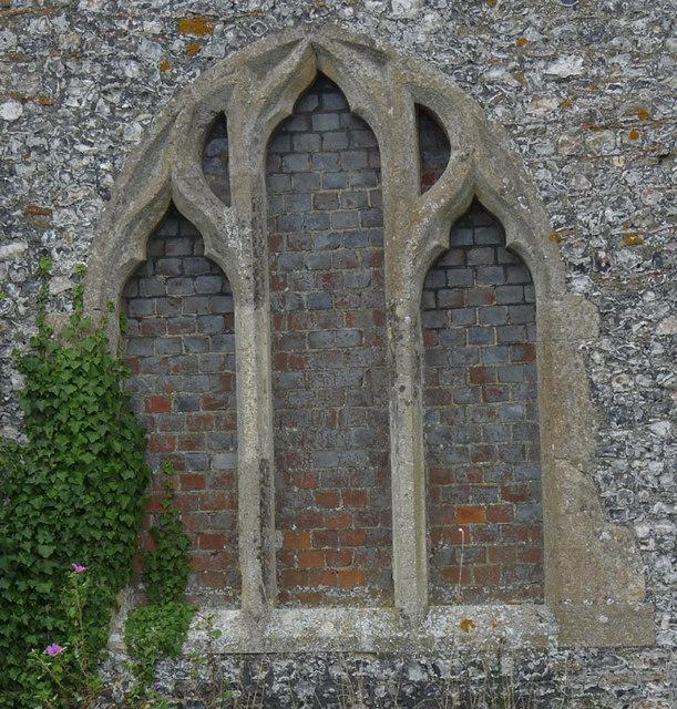 Knights Templar Chapel - East Window - Brimpton