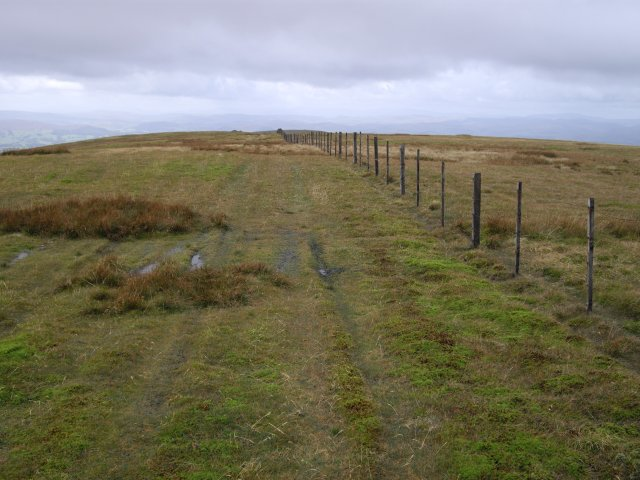 Fence on Gana Hill