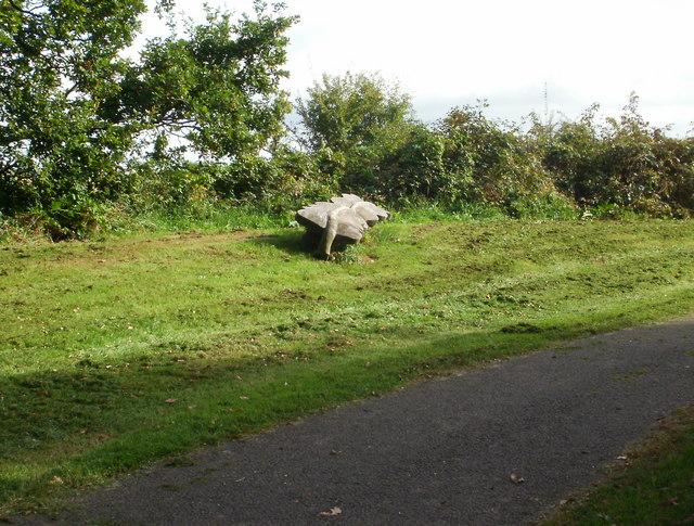 Oak leaf bench, Malpas, Newport