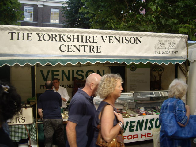 'The Yorkshire Venison Centre' stall