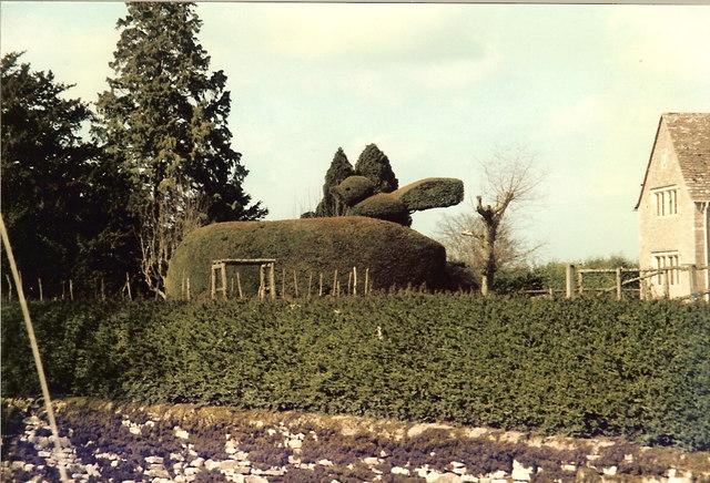 Topiary in Sapperton