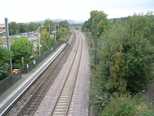 View from Bridge TRJC3-76B - Station Road