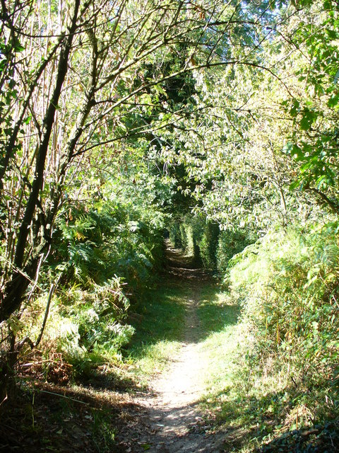 Footpath Off Dunny Lane