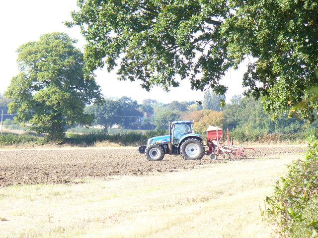 Ploughing by Barnes Lane