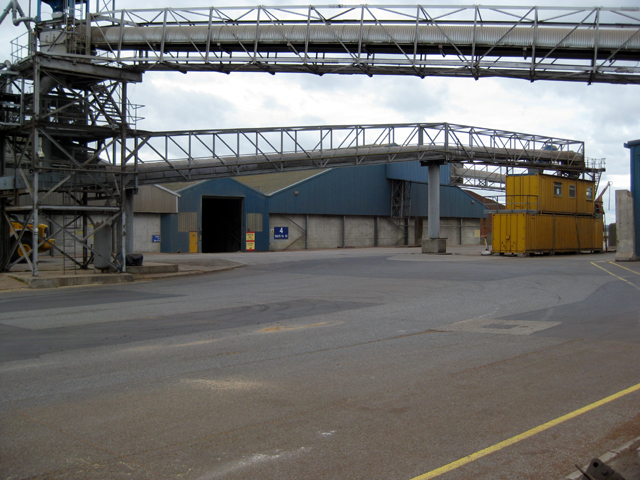 Shed No. 4 at New Holland Bulk Storage
