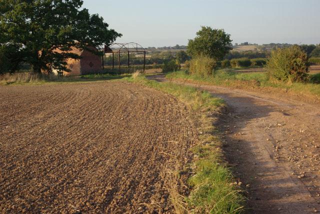 Track north of Ufton