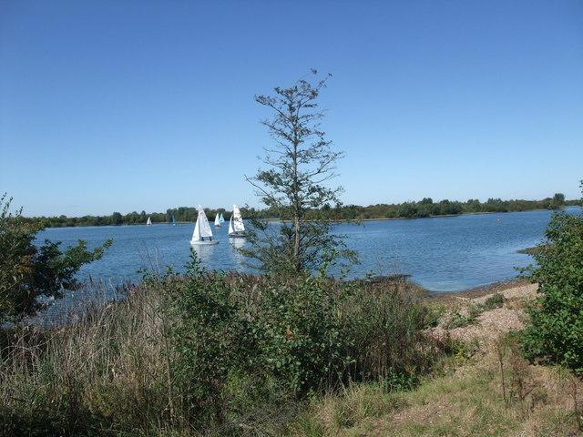 Girton Sailing Club from Green Lane