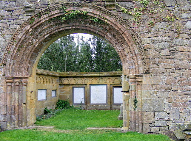 A Splendid Arch at the Abbey