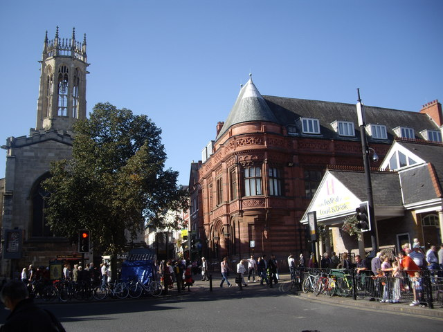 Corner of Parliament Street