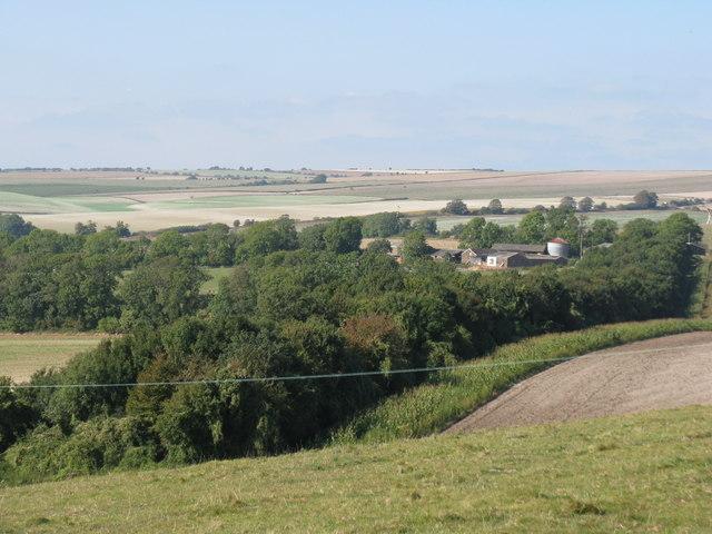 New Buildings farm near New Barn