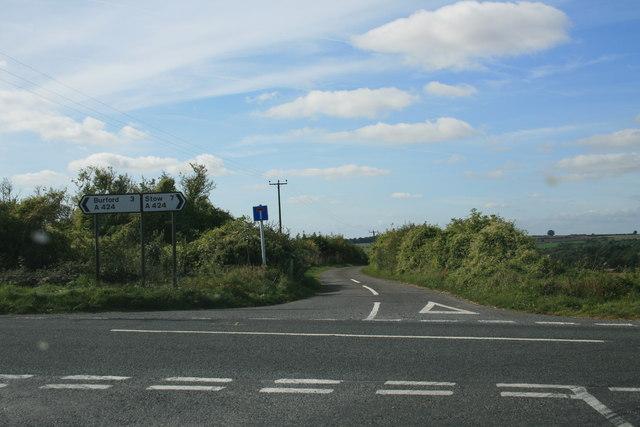 Road to Tangley Hall