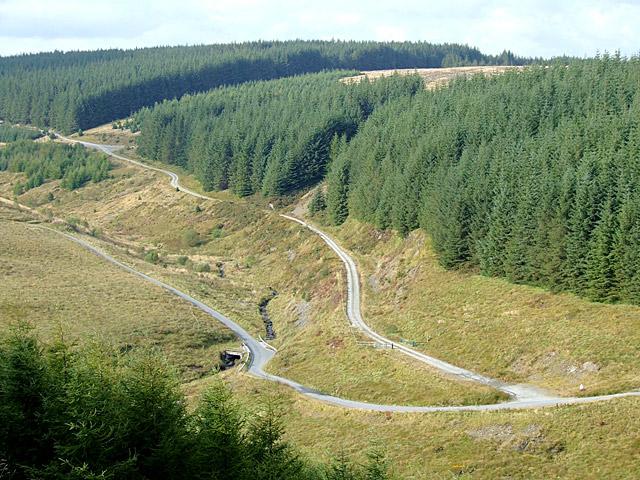 Tywi Forest and Cwm Gerwyn, Ceredigion