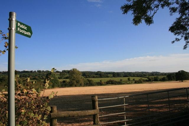Footpath to Wyck Rissington