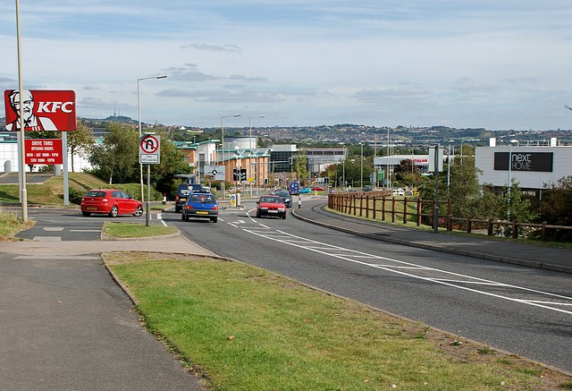 The Boulevard, Merry Hill, Brierley Hill