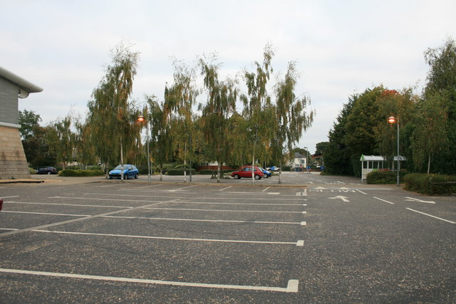 Carterton Co Op car park