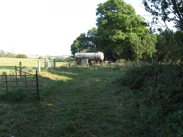 Farm tanker at Highden Barn