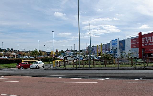 Merry Hill Shopping Centre, Brierley Hill