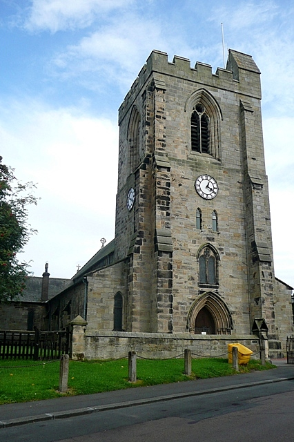 All Saints church, Rothbury