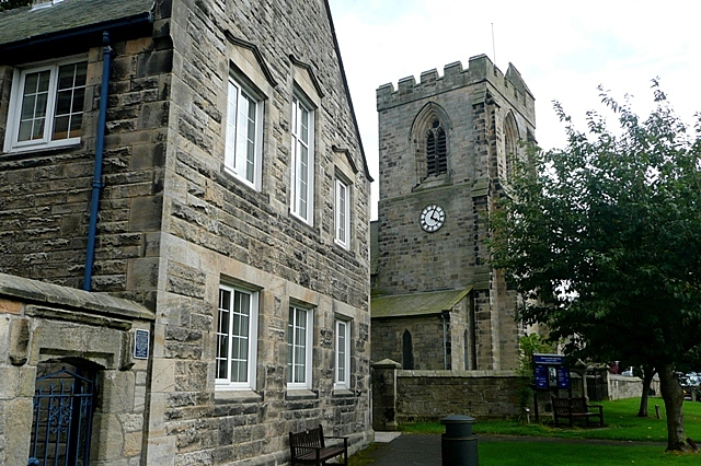 All Saints church, Rothbury