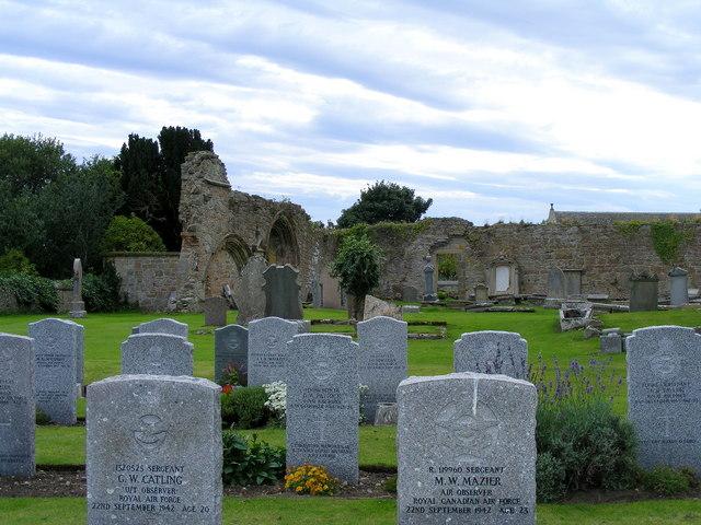 War Graves at Kinloss Abbey