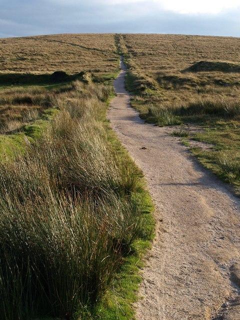 Bridleway south of Nun's Cross