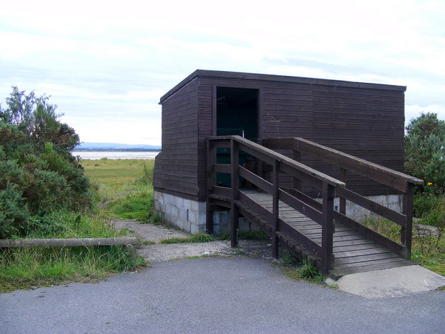 The Bird Hide at Findhorn Bay
