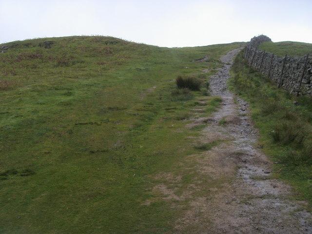 Footpath up to Walla Crag