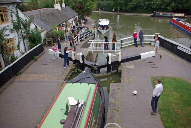 Foxton Bottom Lock