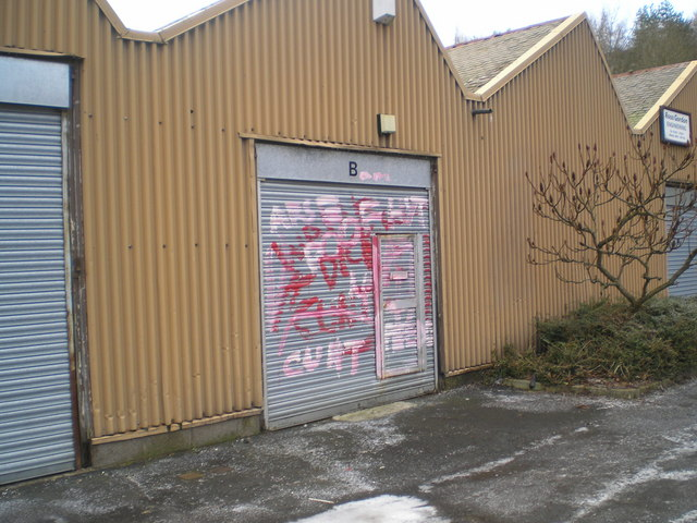 Odd graffiti, Riversdale Mill