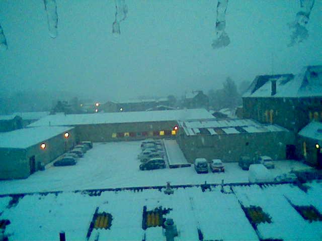 Eastfield Mills in winter