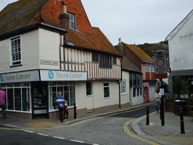 Courthouse Street, Old Town, Hastings