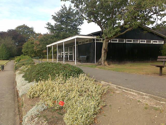 Bowls Pavilion in West Park