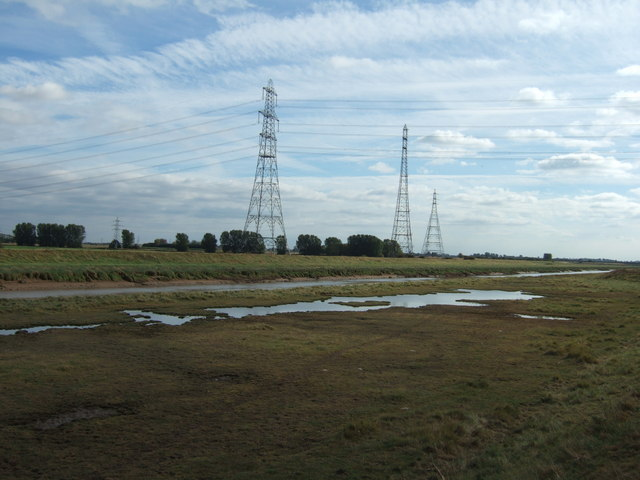 Ponds and pylons