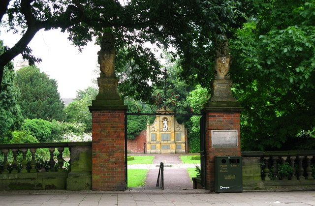 Garden of Remembrance, Lichfield