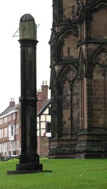 Cathedral Sundial, Lichfield