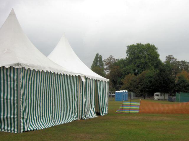 Colourscape - Tents on Clapham Common