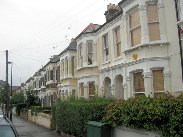 A Victorian Terrace in Franconia Road, Clapham