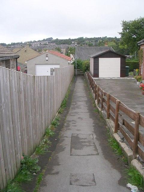 Footpath - Craven Drive