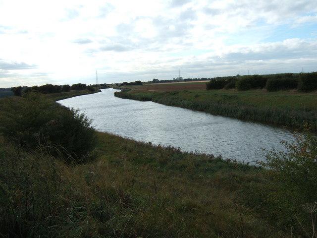 The South Holland Main Drain near Sutton Bridge