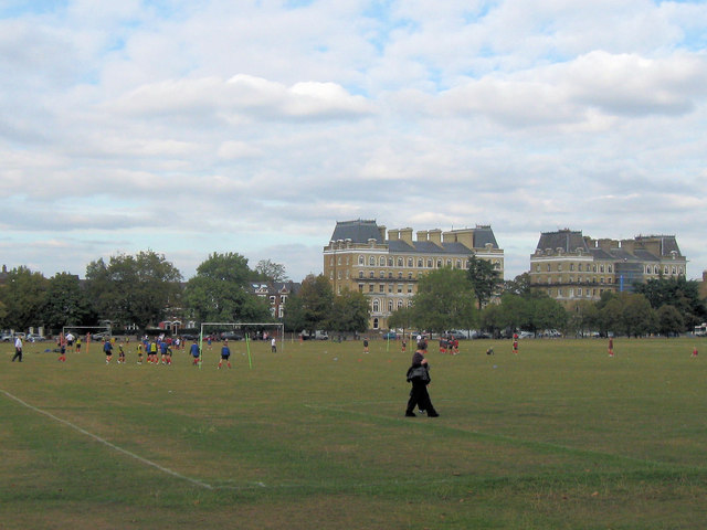Sports Fields on Clapham Common