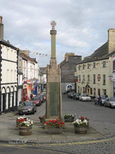 War memorial, Town Square at Ulverston