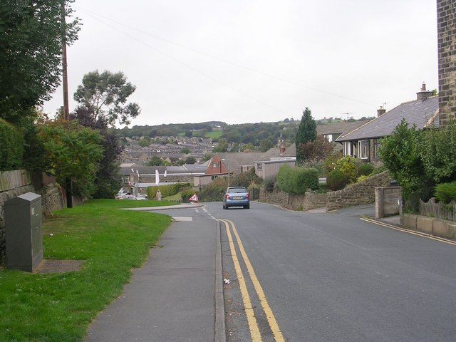 Howden Road - viewed from Daisy Hill