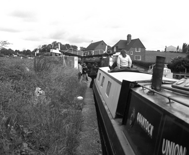 Knowle Locks, Grand Union Canal
